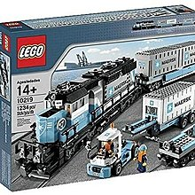 全新未開箱樂高馬士基火車模型絶版LEGO Creator Maersk Train 10219 (Discontinued by manufacturer)