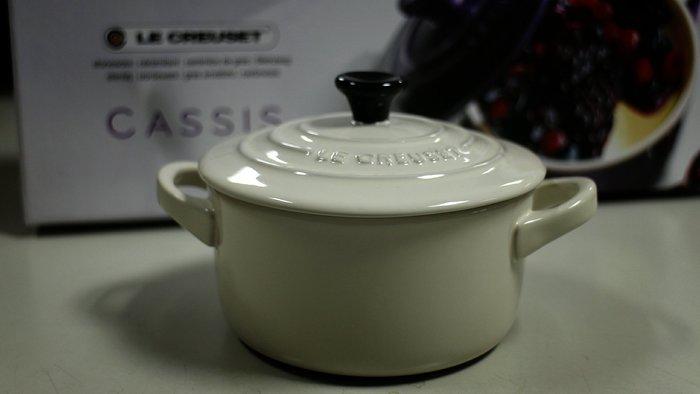 【小麥的店】現貨*法國 Le Creuset 迷你陶瓷圓烤盅 // 米色