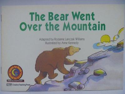 【月界】The Bear Went Over the Mountain-Read to Learn 〖少年童書〗CEP