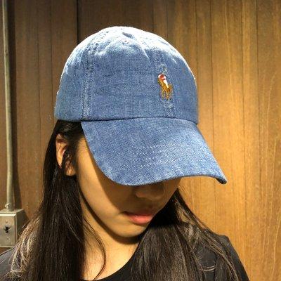 美國百分百【全新真品】 Ralph Lauren 帽子 RL 配件 棒球帽 Polo 小馬 彩馬 帆布 刺繡 AE26
