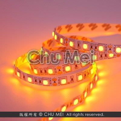 12V-黃光LED-5050-SMD軟條燈(裸板) - 黃光 led 軟條燈 軟燈條 條燈 燈條 .