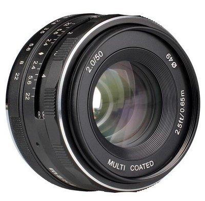 美科 35mm F1.7富士佳能尼康索尼奧林巴斯松下手動微單相機鏡頭9764