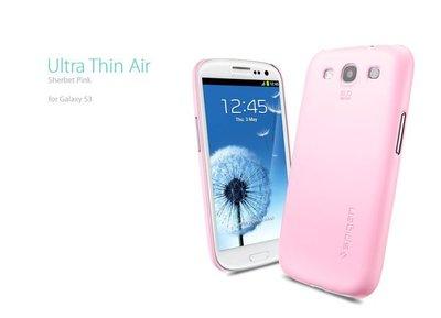 出清  SGP Samsung Galaxy S3 Ultra Thin Air 硬式 超薄 保護殼 『甜美粉』