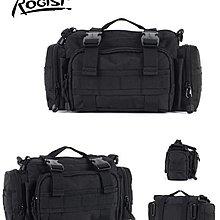 ROGISI相機包 腰包 戶外休閒包 零錢包 手機包 手提包 軍迷包 露營包 現貨黑