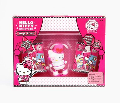 HELLO KITTY MAGIC ROBOT TRICK IN WINDOW BOX 凱蒂貓魔術秀玩具組