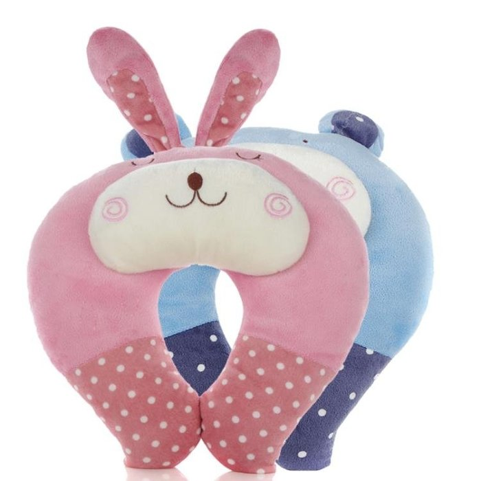 [特惠免運]可愛U型枕頭頸椎枕飛機護頸枕汽車旅行卡通枕頭辦公室午睡枕—《MONA》