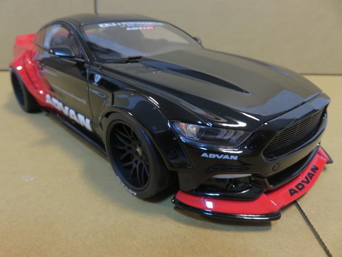 =Mr. MONK= GT / Kyosho Ford Mustang LB Works
