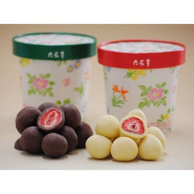 *日式雜貨館*日本帶回 六花亭 草莓巧克力 草莓白巧克力 草莓黑巧克力 現貨+預購 另售六花亭奶油葡萄 Royce