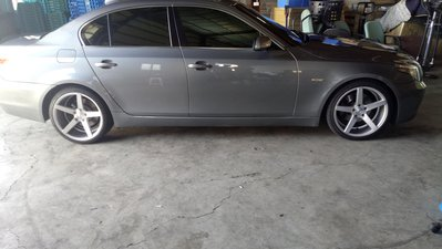 BMW e60 e39 e38 e34 19吋前後配鋁圈含胎