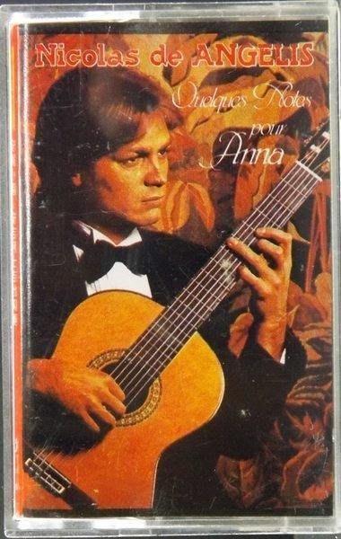 理查克萊德門同門大師Nicolas de ANGELIS安吉利士吉他演奏第一集收禁忌的遊戲等經典卡帶絕版
