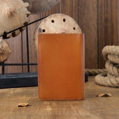 [包妳喜歡]手工真皮護照夾包男多功能證...