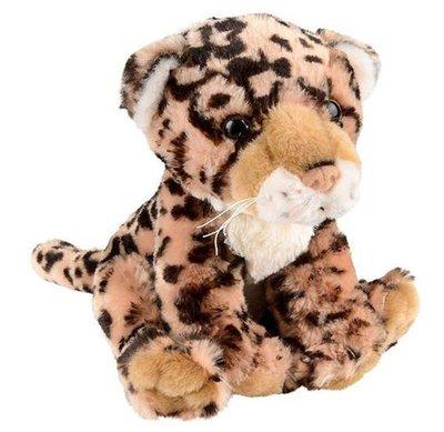 14486c 日本進口 限量品 好品質 可愛柔順 獵豹花豹美洲豹 動物絨毛絨玩偶抱枕娃娃擺件裝飾品禮品