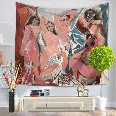 欧式复古抽象挂毯沙滩巾坐毯GT1048-150*200cm-6