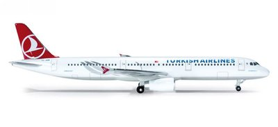 A-321 Turkish Airlines Registration:TC-JRN 土耳其航空 限量品