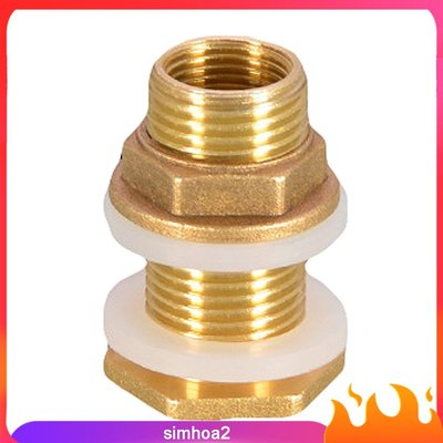Solid Brass Water Tank Connector Fittings