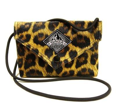 泰國 GAGA包 曼谷設計師品牌 豹紋 收納包 側背包 肩背包 短夾 手機包 化妝包 夜店包