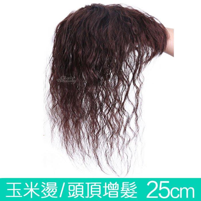 內網8X12 髮長25公分 玉米燙 玉米鬚 捲髮 增髮補髮塊 【RT50】 ☆雙兒網☆