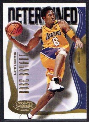 00-01 FLEER NBA HOOPS PROSPECTS DETERMINED #4 KOBE BRYANT