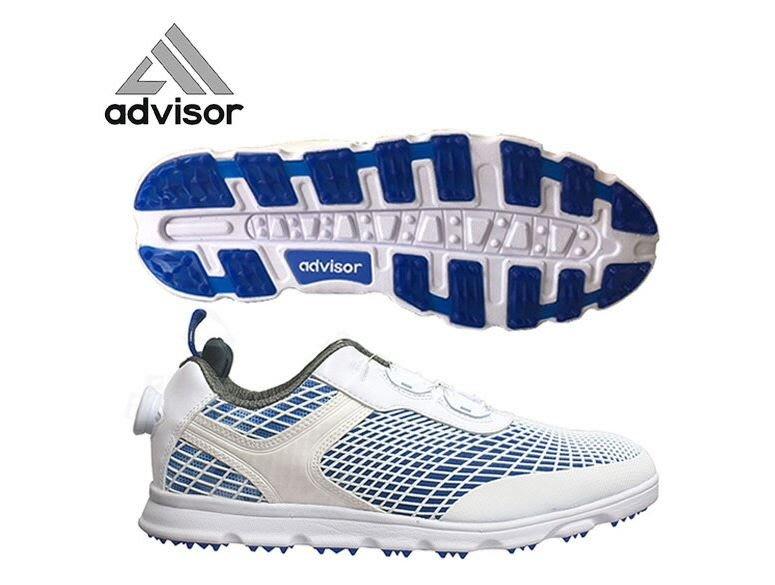 宏帛高爾夫 ADVISOR ADGS2018 超輕量免綁鞋帶高爾夫球鞋(無釘)