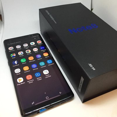 Samsung galaxy note 8 2 sims 有中文