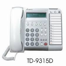 TONNET通航  DCS 8鍵顯示型 總機電話(TD-9315D)