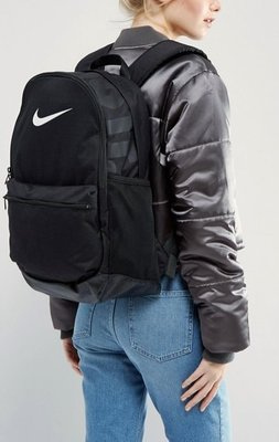 代購 Nike Brasilia Backpack With Just Do It Logo 黑色後背包