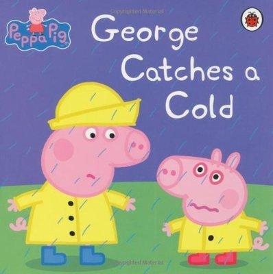 *小P書樂園* PEPPA PIG:GEORGE CATCHES A COLD