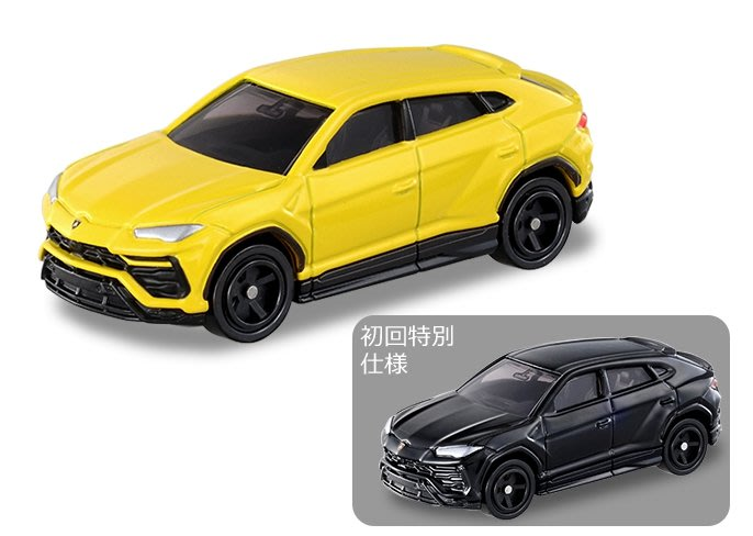 [現貨] Tomica No. 16 Lamborghini Urus 藍寶堅尼 SUV 兩台一組