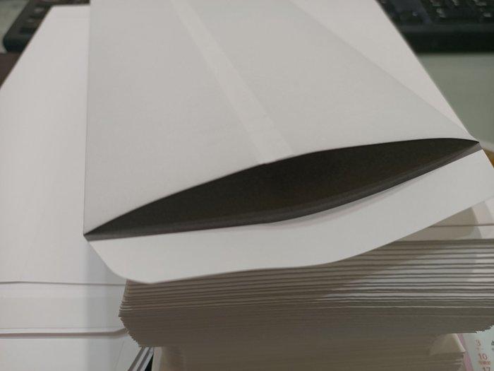 【卡樂好市】中式白模造100P--小12K--保密信封 / 雙層信封 / 支票專用〈約12.0 X 22.8cm〉