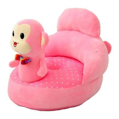 新款可愛寶寶小坐凳兒童沙發卡通懶人座椅嬰兒學坐沙發護欄靠椅子