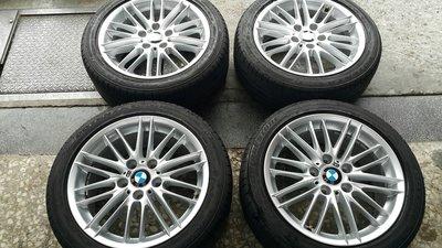 BMW F22 F20 原廠 M款 17吋 前後配鋁圈 BMW E90 460M