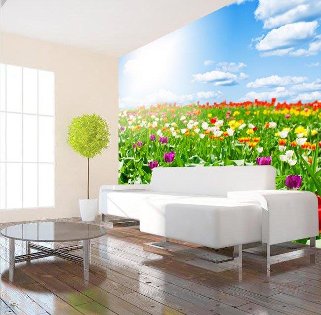 客製化壁貼 店面保障 編號F-756 陽光花卉 壁紙 牆貼 牆紙 壁畫 背景牆 星瑞 shing ruei