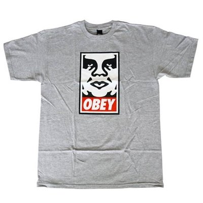 [WESTYLE] OBEY Icon Face Tee 灰 短T