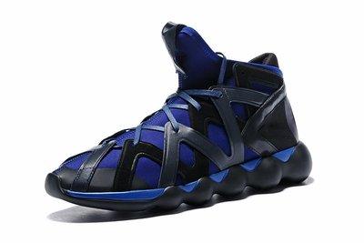 D-BOX  Adidas Y-3 Y3 Kyujo Low 黑藍 跑步鞋 男女款 武士