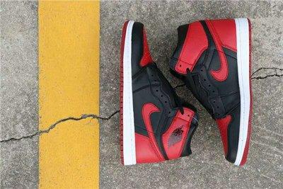 """Air Jordan 1 """"Banned"""" 555088-001 黑紅 禁穿 籃球鞋"""