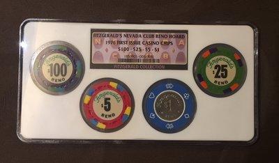 【隱逸空間】    拉斯維加斯         賭場籌碼代幣     NGC封盒紀念        保證真品