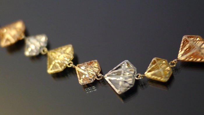 晴日小舖 gold  ITALY 585 K金 手環 [ kb 052 ]-1.45