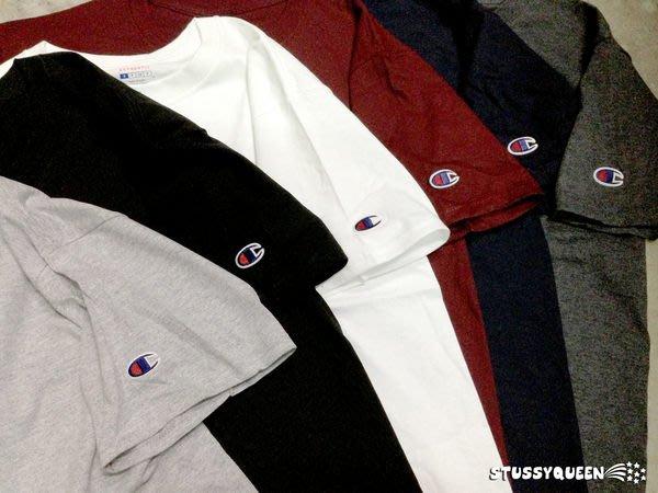 【 超搶手】全新正品 Champion Short Sleeve Tee 高磅  純棉 素T pyrex 專用 黑白灰藍紅 S M L XL XXL