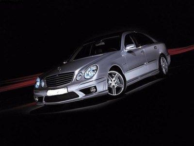 ※寶捷國際※ M.Benz 2007-2009 E-Class W211 E63 AMG 四件式 空力套件 台灣製造