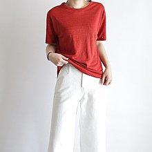 girlmonster 正韓 亞麻 短袖薄T /  夏季短袖上衣  [A0327]  兩件優惠價 $1300