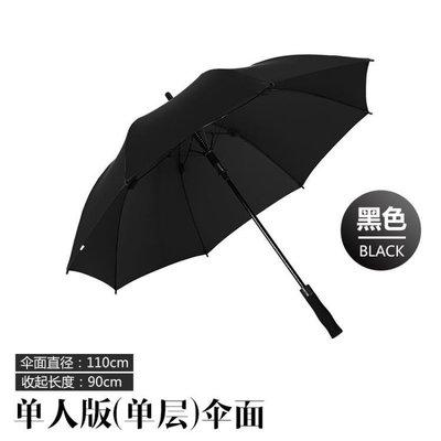 雨傘男士大號長柄韓國創意晴雨兩用車載傘女超大雙人傘廣告傘IGO