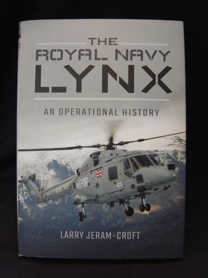 *阿威的舊書香*【特價 THE ROYAL NAVY LYNX AN OPERATIONAL HISTORY】書況好