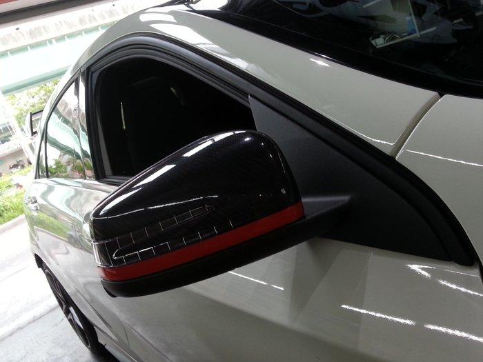 M~Benz A~Class 窗框貼膜 鍍烙貼膜 水箱罩貼膜 W176 A250 A200