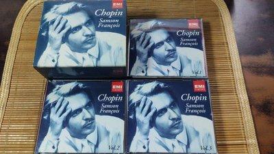 好音悅 Samson Francois 富蘭梭瓦 Chopin 蕭邦 鋼琴作品集 10CD EMI EU版