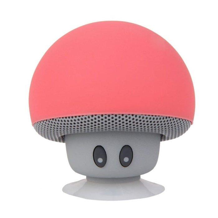 便攜式 藍牙 音箱 無線 免提 蘑菇 音箱  吸盤式支架 適用於 iphone 三星