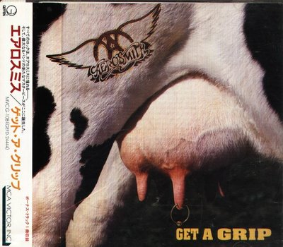 K - Aerosmith - Get A Grip - 日版 CD+1BONUS OBI