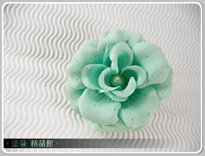 ❤法朵 館❤ 販售款~優雅 花頭飾EEA841~新娘秘書 飾品 新娘飾品 蒂芬尼綠
