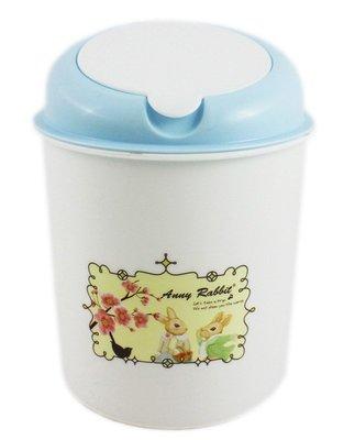 【卡漫迷】 安妮兔 春梅 垃圾桶 庫一 高18cm ㊣版 垃圾筒 收納 置物筒 汽車用 掀蓋式 Anny Rabbit