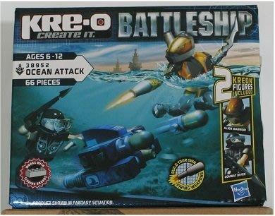 傑仲 (有發票) HRE-O 積木 超級戰艦系列 Ocean Attack 海戰基本人物組 38952 6歲以上
