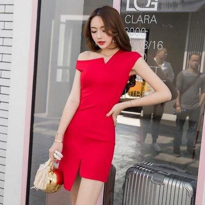 夜店裙子女夏天洋裝新款正韓性感女裝顯瘦春款洋裝夜場時尚連衣裙推薦